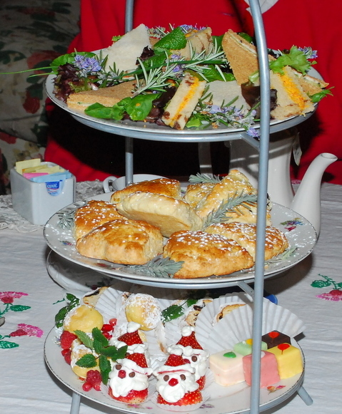 Christmas Tea Party Ideas: Beans In The Belfry