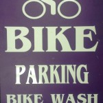 Bike Parking and Bike Wash for customers