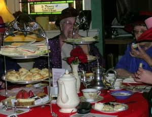 Red Hat Society Tea