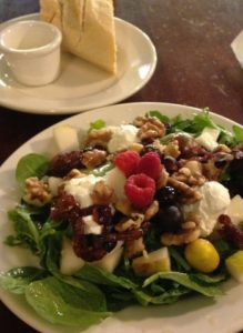 Farm to Fork Goat Cheese Salad 2015 photo by Miriam